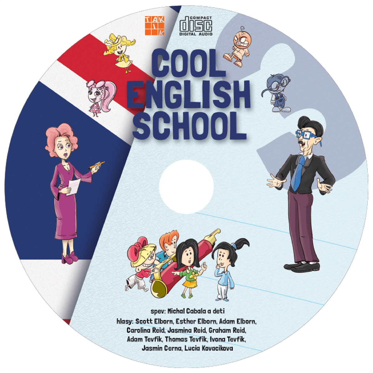 COOL ENGLISH SCHOOL 3 - audio CD
