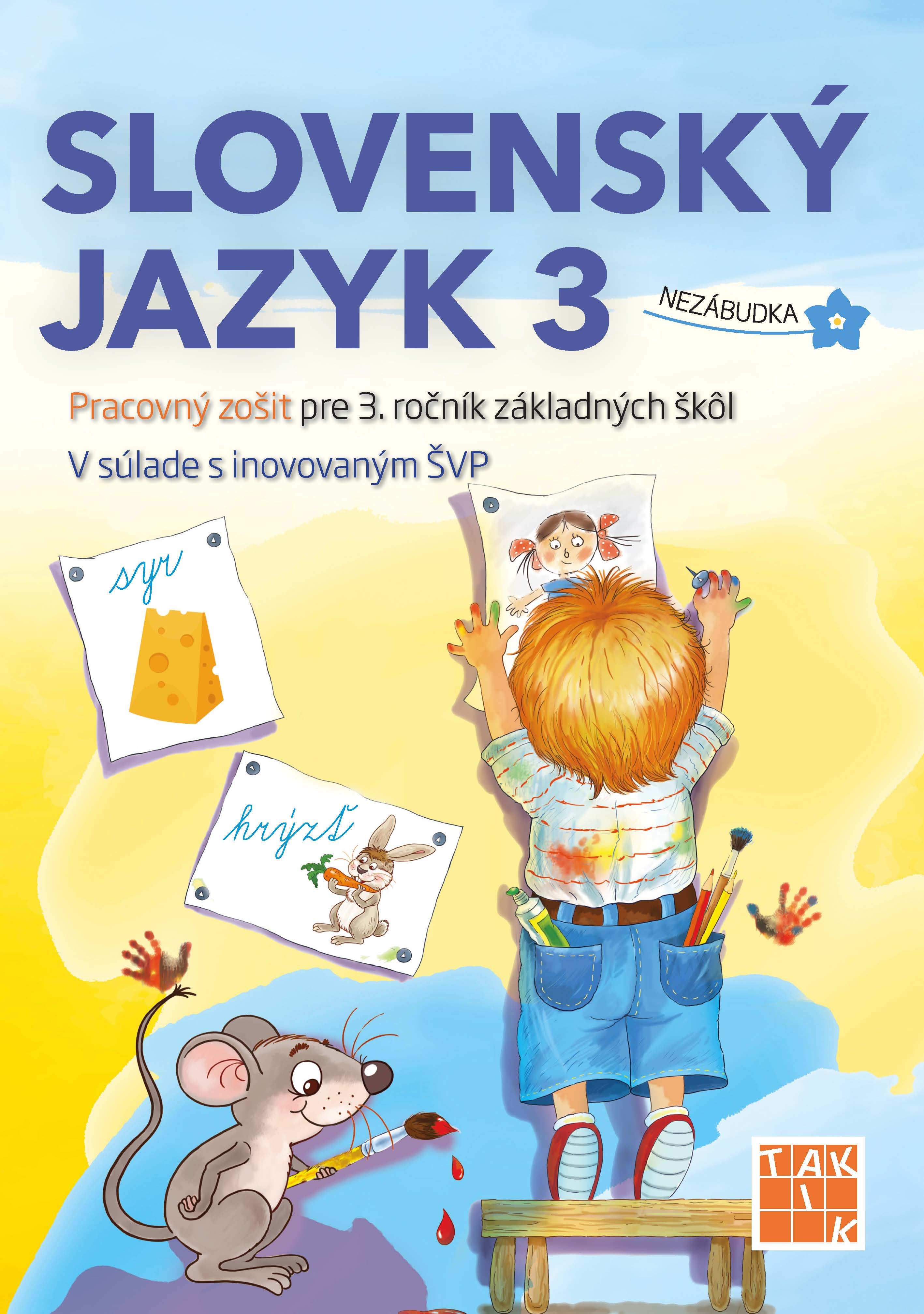 cbe5e1aae Slovenský jazyk 3 - učebnica | Taktik.sk