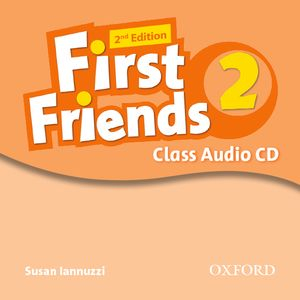 First Friends 2nd Edition 2 CD