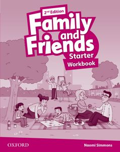 Family and Friends 2nd Edition Starter Workbook + Online