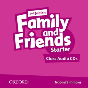 Family and Friends 2nd Edition Starter CDs (2)