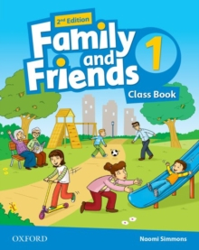 Family and Friends 2nd Edition 1 Class Book (2019 Edition)
