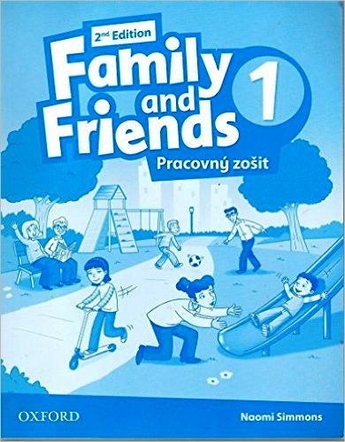 Family and Friends 2nd Edition 1 Workbook + Online