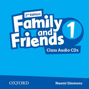 Family and Friends 2nd Edition 1 CDs (2)