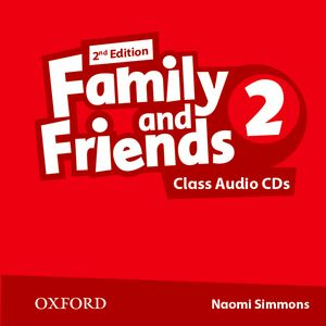 Family and Friends 2nd Edition 2 CDs (2)