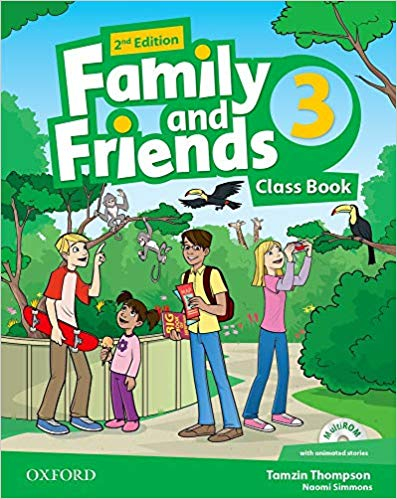 Family and Friends 2nd Edition 3 Class Book (2019 Edition)