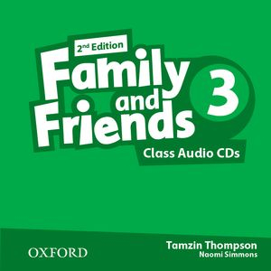 Family and Friends 2nd Edition 3 CDs (2)