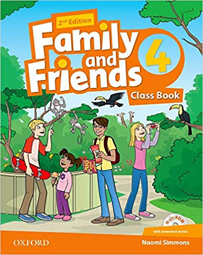 Family and Friends 2nd Edition 4 Class Book (2019 Edition)