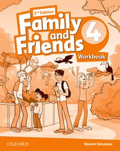 Family and Friends 2nd Edition 4 Workbook + Online