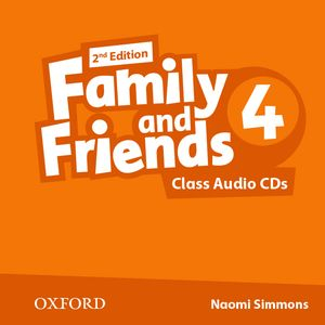Family and Friends 2nd Edition 4 CDs (2)