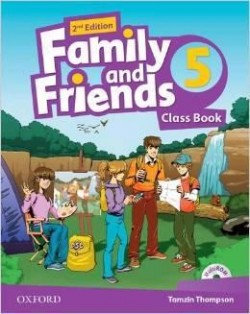 Family and Friends 2nd Edition 5 Class Book (2019 Edition)