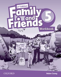 Family and Friends 2nd Edition 5 Workbook + Online