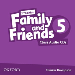 Family and Friends 2nd Edition 5 CDs (2)
