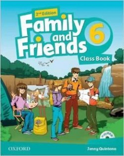 Family and Friends 2nd Edition 6 Class Book (2019 Edition)