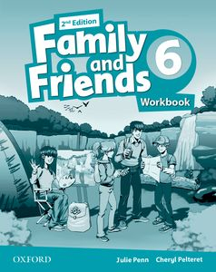 Family and Friends 2nd Edition 6 Workbook + Online
