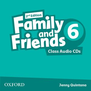 Family and Friends 2nd Edition 6 CDs (2)