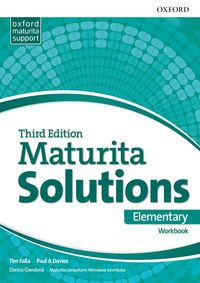 Maturita Solutions, 3rd Edition Elementary Workbook (SK Edition)