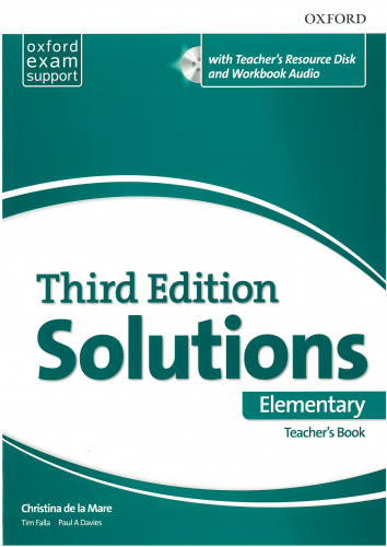 Maturita Solutions, 3rd Edition Elementary Teacher