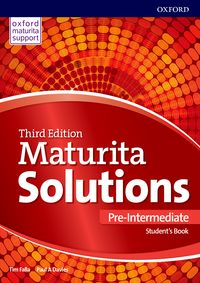Maturita Solutions, 3rd Edition Pre-Intermediate Student