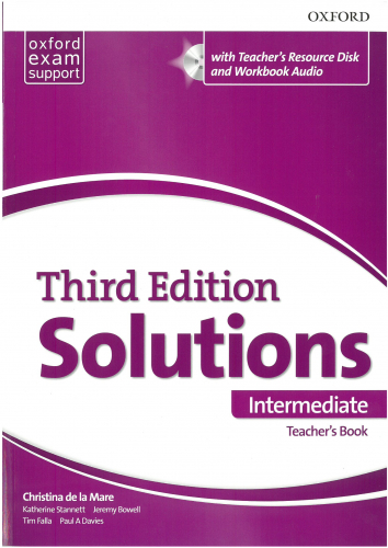 Maturita Solutions, 3rd Edition IntermediateTeacher