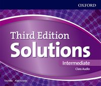 Maturita Solutions, 3rd Edition Intermediate CDs (3)