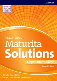 Maturita Solutions, 3rd Edition Upper-Intermediate Student