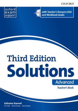 Maturita Solutions, 3rd Edition Advanced Teacher