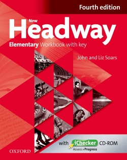 New Headway Elementary 4th Edition Workbook with Key (2019 Edition)
