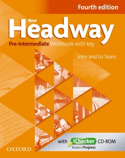 New Headway Pre-Inter 4th Edition Workbook with Key (2019 Edition)