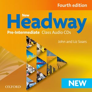 New Headway Pre-Inter 4th Edition Class CDs (3)