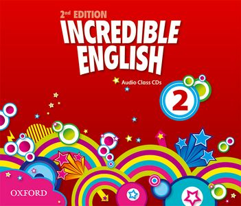 Incredible English 2nd Edition 2 CDs (3)