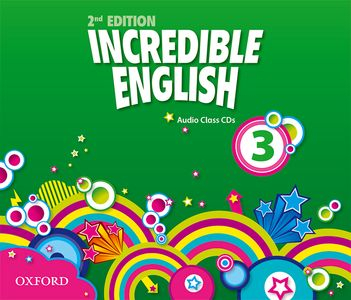 Incredible English 2nd Edition 3 CDs (3)