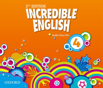 Incredible English 2nd Edition 4 CDs (3)