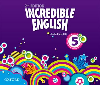 Incredible English 2nd Edition 5 CDs (3)