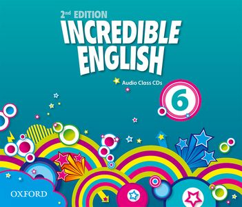 Incredible English 2nd Edition 6 CDs (3)