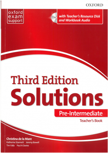 Maturita Solutions, 3rd Edition Pre-Intermediate Teacher
