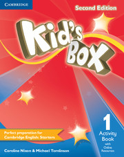 Kid´s Box 2/e (A1-A2) 1 Activity Book +Online Res 2/e
