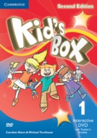 Kid´s Box 2/e (A1-A2) 1 DVD Interactive +Teacher