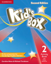 Kid´s Box 2/e (A1-A2) 2 Activity Book +Online Res 2/e