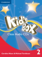 Kid´s Box 2/e (A1-A2) 2 CD (4) 2/e