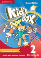 Kid´s Box 2/e (A1-A2) 2 Flashcards 2/e