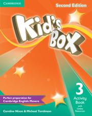 Kid´s Box 2/e (A1-A2) 3 Activity Book +Online Res 2/e