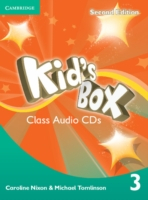 Kid´s Box 2/e (A1-A2) 3 CD (2) 2/e