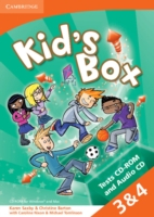 Kid´s Box 2/e (A1-A2) 3 / 4 Test CD/CD-Rom 2/e