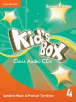 Kid´s Box 2/e (A1-A2) 4 CD (3) 2/e