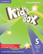 Kid´s Box 2/e (A1-A2) 5 Activity Book +Online Res 2/e