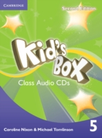 Kid´s Box 2/e (A1-A2) 5 CD (3) 2/e