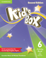 Kid´s Box 2/e (A1-A2) 6 Activity Book +Online Res 2/e