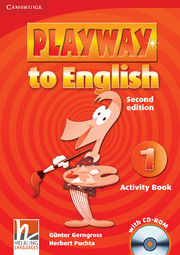 Playway to English 2/e new (A1) 1 Activity Book +CD-Rom 2/e
