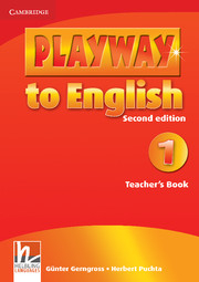 Playway to English 2/e new (A1) 1 Teacher
